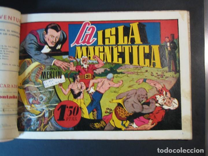 Tebeos: MERLIN (1942, HISPANO AMERICANA) LOTE Nº : 1 AL 21 - Foto 20 - 110589503