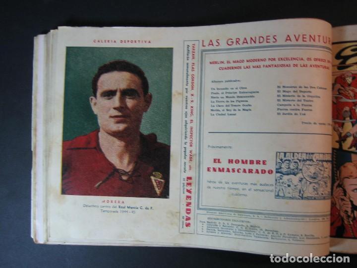 Tebeos: MERLIN (1942, HISPANO AMERICANA) LOTE Nº : 1 AL 21 - Foto 21 - 110589503