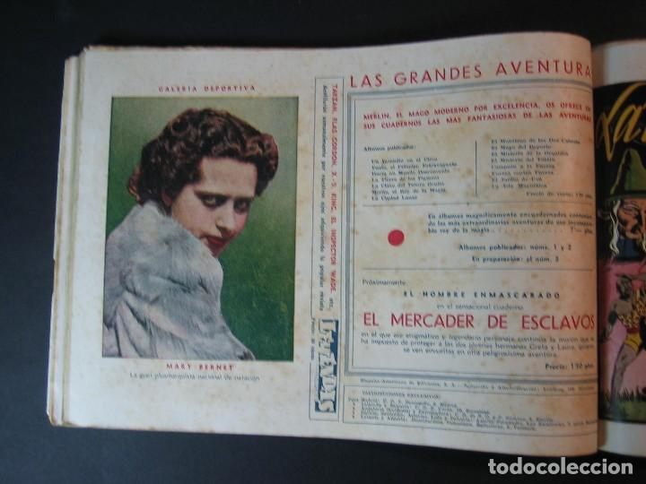 Tebeos: MERLIN (1942, HISPANO AMERICANA) LOTE Nº : 1 AL 21 - Foto 23 - 110589503