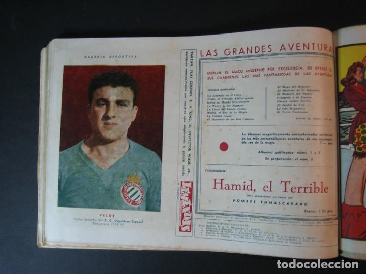 Tebeos: MERLIN (1942, HISPANO AMERICANA) LOTE Nº : 1 AL 21 - Foto 25 - 110589503