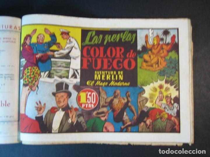 Tebeos: MERLIN (1942, HISPANO AMERICANA) LOTE Nº : 1 AL 21 - Foto 26 - 110589503