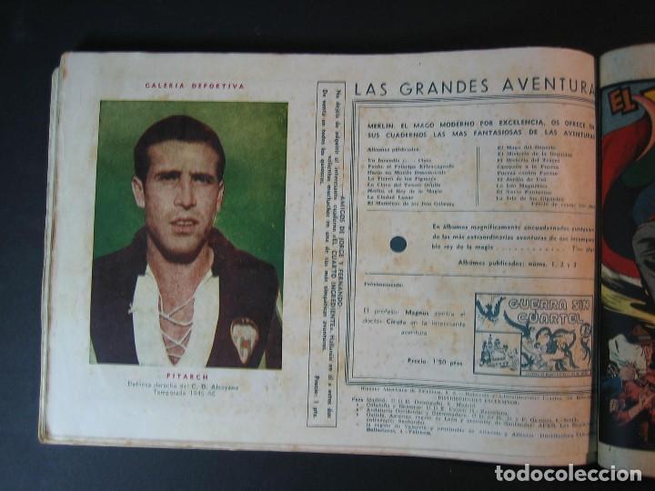 Tebeos: MERLIN (1942, HISPANO AMERICANA) LOTE Nº : 1 AL 21 - Foto 27 - 110589503