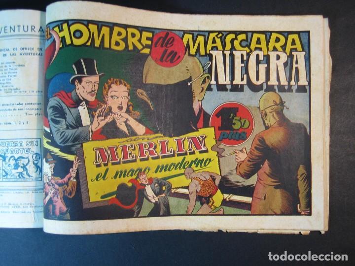 Tebeos: MERLIN (1942, HISPANO AMERICANA) LOTE Nº : 1 AL 21 - Foto 28 - 110589503