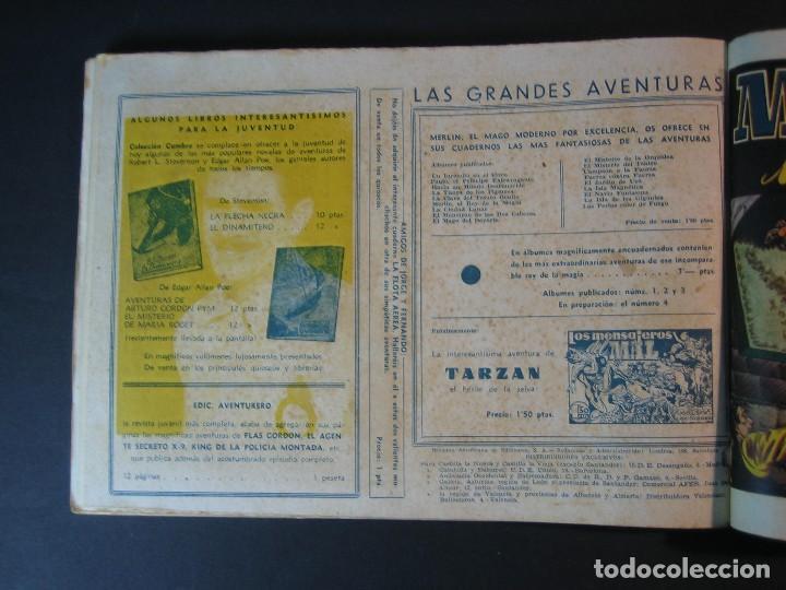 Tebeos: MERLIN (1942, HISPANO AMERICANA) LOTE Nº : 1 AL 21 - Foto 29 - 110589503
