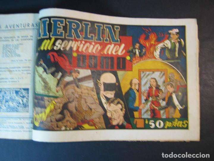 Tebeos: MERLIN (1942, HISPANO AMERICANA) LOTE Nº : 1 AL 21 - Foto 30 - 110589503