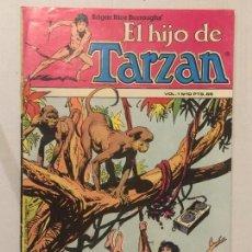 EL HIJO DE TARZAN,- VOL 1,- Nº 10,- HITPRESS,- AÑO 1980,- CAZADORES FURTIVOS.
