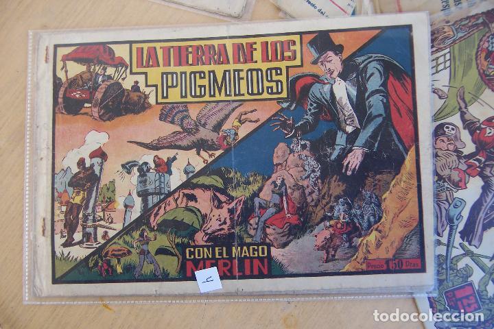 Tebeos: hispano americana, lote de merlín el mago, ver - Foto 75 - 81703172