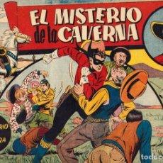 Tebeos: EL JINETE ENMASCARADO: EL MISTERIO DE LA CAVERNA (HISPANO AMERICANA, 1943), DE CHARLES FLANDERS. Lote 111216591