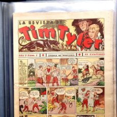 Tebeos: LA REVISTA DE TIM TYLER (HISPANO AMERICANA, 1936) 113 EJS. COMPLETA A FALTA DE NUMEROS: 47, 93 Y 96.. Lote 111446991