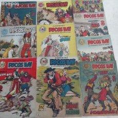 Tebeos: PECOS BILL ORIGINALES 1951 - NºS - 2,3,5,9,11,12,17,21,24,28 HISPANOAMERICANA. Lote 111542099