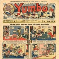 Tebeos: YUMBO-22 (HISPANO AMERICANA, 1935) CON TIM TYLER DE LYMAN YOUNG Y RADIO PATROL DE SCHMIDT Y SULLIVAN. Lote 111776271