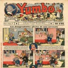 Tebeos: YUMBO-17 (HISPANO AMERICANA, 1935) CON TIM TYLER DE LYMAN YOUNG Y RADIO PATROL DE SCHMIDT Y SULLIVAN. Lote 111776423