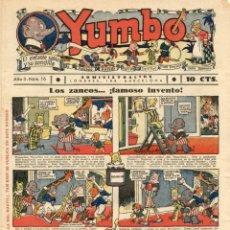 Tebeos: YUMBO-16 (HISPANO AMERICANA, 1935) CON TIM TYLER DE LYMAN YOUNG Y RADIO PATROL DE SCHMIDT Y SULLIVAN. Lote 111776563