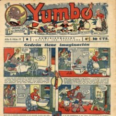 Tebeos: YUMBO-15 (HISPANO AMERICANA, 1935) CON TIM TYLER DE LYMAN YOUNG Y RADIO PATROL DE SCHMIDT Y SULLIVAN. Lote 111776755