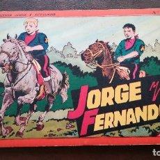 Tebeos - Jorge y Fernando. Número 4. Hispano-Americana - 111799675