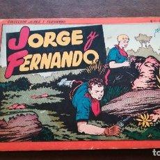 Tebeos: JORGE Y FERNANDO. NÚMERO 2. HISPANO-AMERICANA. Lote 111799815