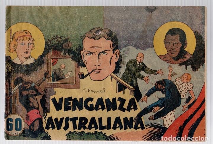 VENGANZA AUSTRALIANA. ORIGINAL. HISPANO AMERICANA (Tebeos y Comics - Hispano Americana - Otros)