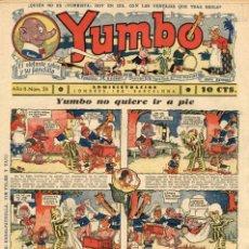 Tebeos: YUMBO-26 (HISPANO AMERICANA, 1935) CON TIM TYLER DE LYMAN YOUNG Y RADIO PATROL DE SCHMIDT Y SULLIVAN. Lote 111919307