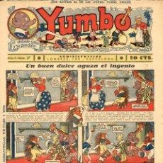 Tebeos: YUMBO-27 (HISPANO AMERICANA, 1935) CON TIM TYLER DE LYMAN YOUNG Y RADIO PATROL DE SCHMIDT Y SULLIVAN. Lote 111919411