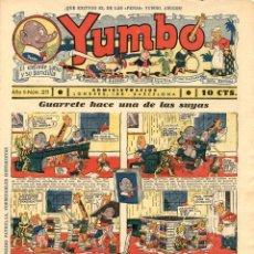 Tebeos: YUMBO-28 (HISPANO AMERICANA, 1935) CON TIM TYLER DE LYMAN YOUNG Y RADIO PATROL DE SCHMIDT Y SULLIVAN. Lote 111919491