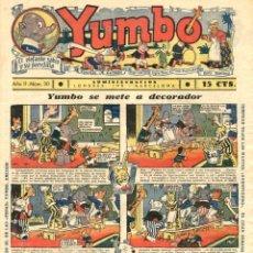 Tebeos: YUMBO-30 (HISPANO AMERICANA, 1935) CON TIM TYLER DE LYMAN YOUNG Y RADIO PATROL DE SCHMIDT Y SULLIVAN. Lote 111919595