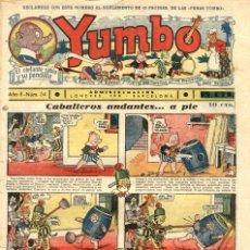 Tebeos: YUMBO-34 (HISPANO AMERICANA, 1935) CON TIM TYLER, RADIO PATROLY KING DE LA POLICIA MONTADA. Lote 111927139