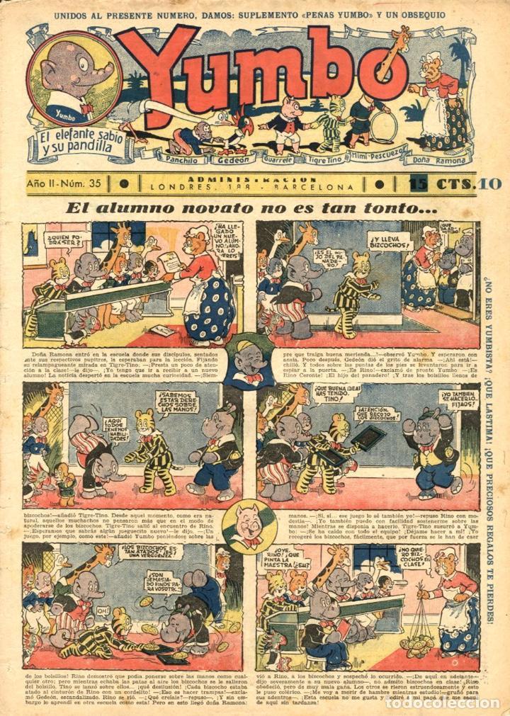 YUMBO-35 (HISPANO AMERICANA, 1935) CON TIM TYLER, RADIO PATROLY KING DE LA POLICIA MONTADA (Tebeos y Comics - Hispano Americana - Yumbo)