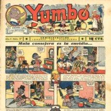 Tebeos: YUMBO-37 (HISPANO AMERICANA, 1935) CON TIM TYLER, RADIO PATROLY KING DE LA POLICIA MONTADA. Lote 111927523