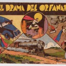 Tebeos: CICLON EL SUPERHOMBRE. EL DRAMA DEL ORFANATO. ORIGINAL. Lote 112973036
