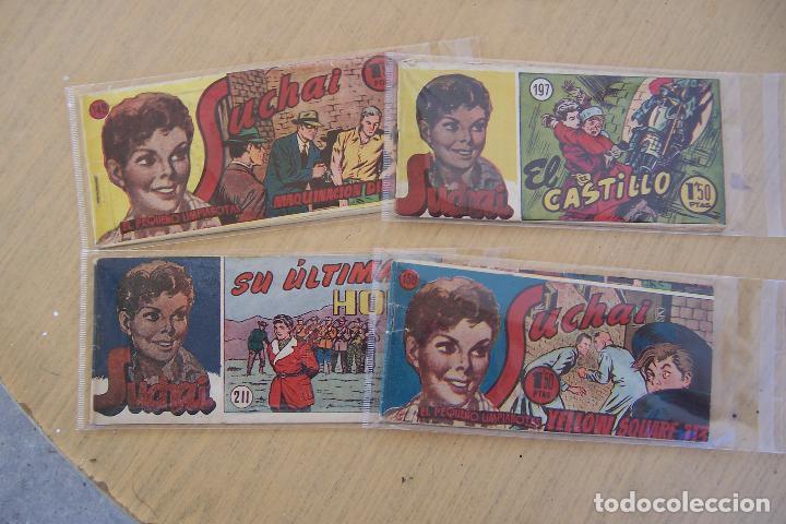 Tebeos: hispano americana, lote de 225 nº de suchai y almanaque 1955 y 1956 - Foto 21 - 84704212