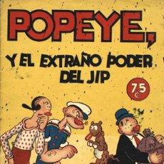 BDs: POPEYE Y EL EXTRAÑO PODER DEL JIP, DE SEGAR (HISPANO AMERICANA, 1941) - RESERVADO. Lote 113208603