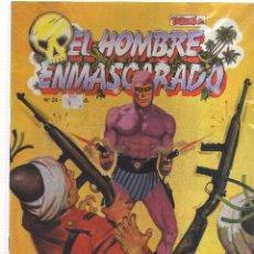 Tebeos: EL HOMBRE ENMASCARADO ATENTADO CONTRA LUAGA. Lote 113254855