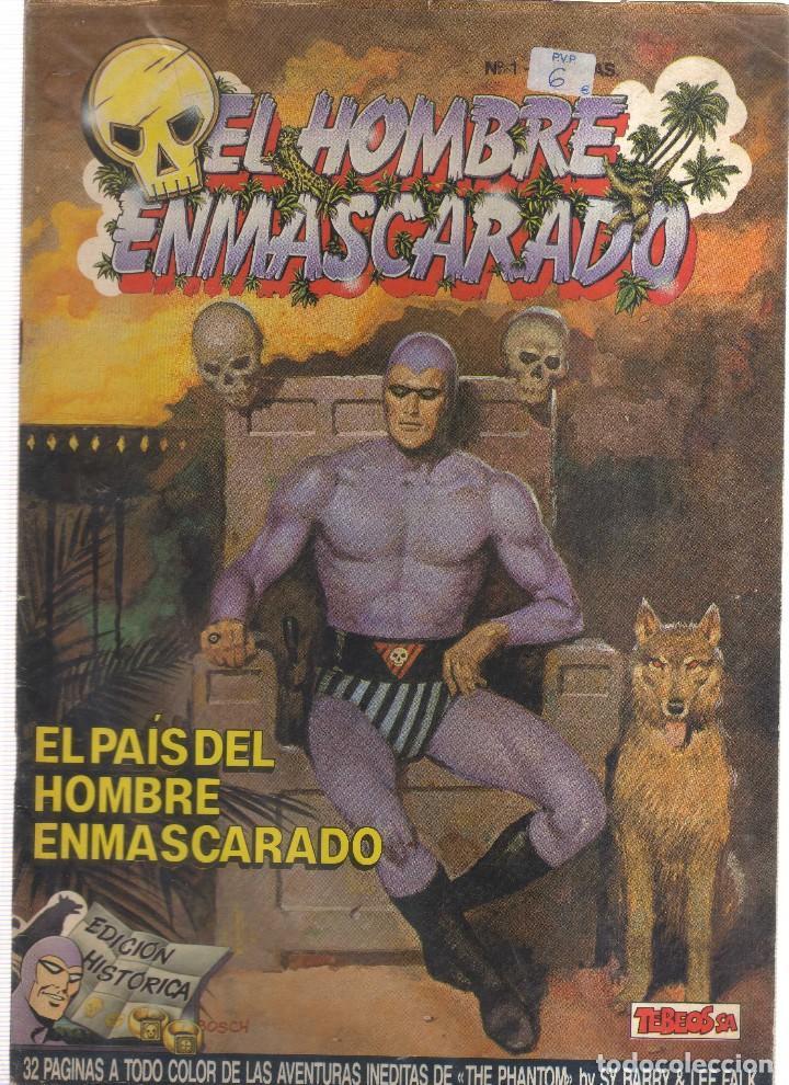EL HOMBRE ENMASCARADO EL PAIS DEL HOMBRE ENMASCARADO (Tebeos y Comics - Hispano Americana - Hombre Enmascarado)
