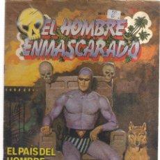 Tebeos: EL HOMBRE ENMASCARADO EL PAIS DEL HOMBRE ENMASCARADO. Lote 113255179