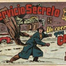 Tebeos: SERVICIO SECRETO-6 (HISPANO AMERICANA, 1954). CON EL AGENTE SECRETO X-9 DE MEL GRAFF. Lote 113463103