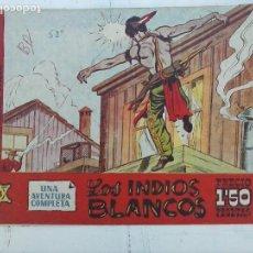 Tebeos: BUFFALO BILL ORIGINAL Nº 48 HISPANO AMERICANA 1958 - DIBUJOS MARGALEF - DIFÍCIL. Lote 113481139