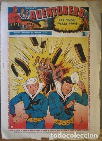 EDICIONES AVENTURERO Nº 12: LOS FALSOS PIELES ROJAS. AÑOS 40 (Tebeos y Comics - Hispano Americana - Aventurero)