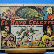 Tebeos: AVENTURAS DE FLAS GORDON Nº1.-EL RAYO CELESTE. Lote 113495615