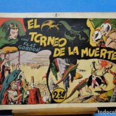 Tebeos: AVENTURAS DE FLAS GORDON Nº3.-EL TORNEO DE LA MUERTE. Lote 113499923