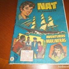 Tebeos: NAT EL GRUMETE--ALBUM-Nº 1--ORIGINAL--. Lote 113901143