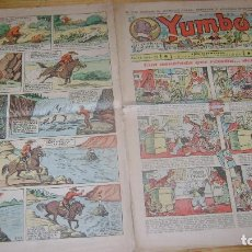 Tebeos: YUMBO 1935 EL NUMERO 62 CARPETA BIBLIOTECA. Lote 114126183