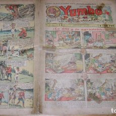 Tebeos: YUMBO 1935 EL NUMERO 64 CARPETA BIBLIOTECA. Lote 114126239