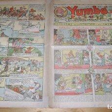 Tebeos: YUMBO 1935 EL NUMERO 66 CARPETA BIBLIOTECA. Lote 114126351