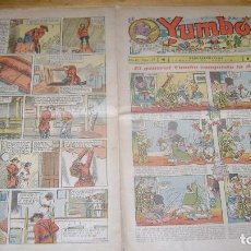Tebeos: YUMBO 1935 EL NUMERO 68 CARPETA BIBLIOTECA. Lote 114126403