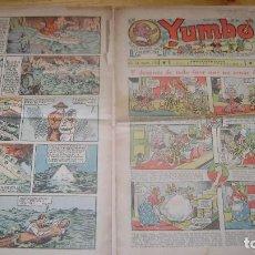 Tebeos: YUMBO 1935 EL NUMERO 70 CARPETA BIBLIOTECA. Lote 114126495