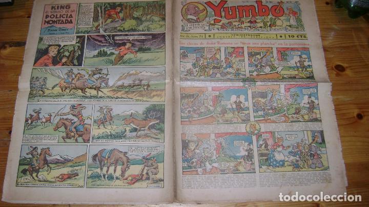 YUMBO 1935 EL NUMERO 71 CARPETA BIBLIOTECA (Tebeos y Comics - Hispano Americana - Yumbo)