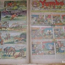 Tebeos: YUMBO 1935 EL NUMERO 71 CARPETA BIBLIOTECA. Lote 114126527