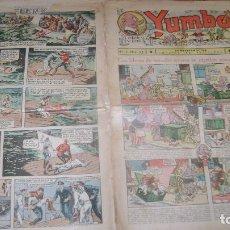 Tebeos: YUMBO 1935 EL NUMERO 72 CARPETA BIBLIOTECA. Lote 114126591