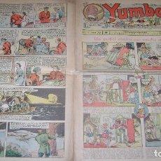 Tebeos: YUMBO 1935 EL NUMERO 74 CARPETA BIBLIOTECA. Lote 114126635