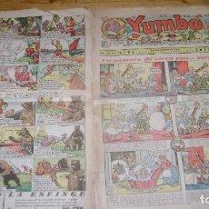 Tebeos: YUMBO 1935 EL NUMERO 76 CARPETA BIBLIOTECA. Lote 114126687